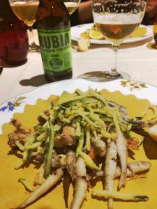 RUBIA Birra artigianle e pesce
