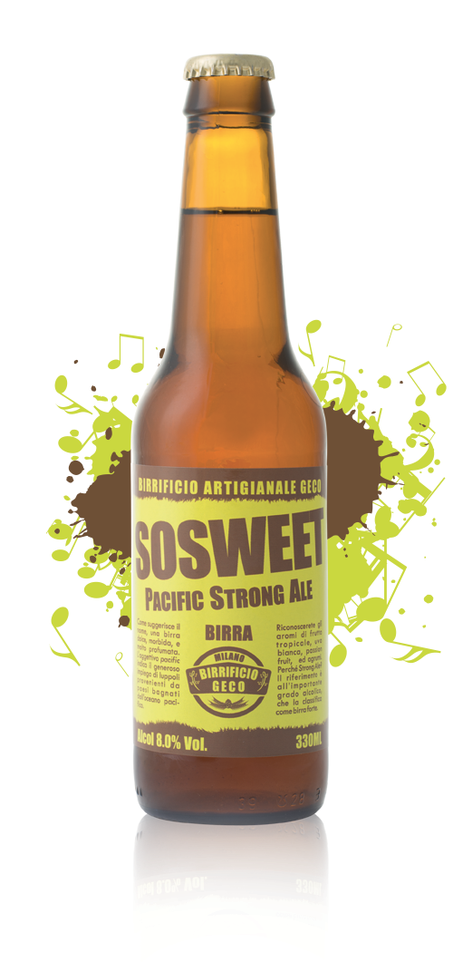SOSWEET Pacific Strong Ale
