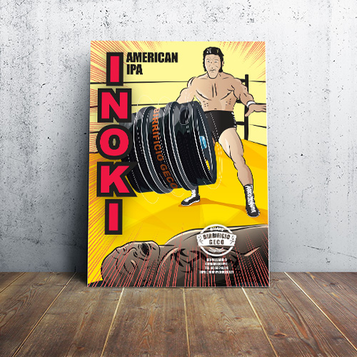 Poster INOKI American IPA
